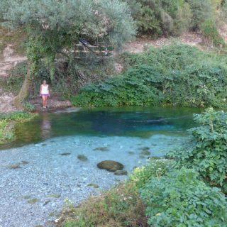 Blue Eye, Albanien