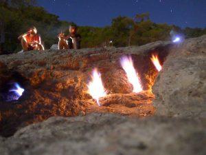 Cirali - Yanartas, der brennende Berg