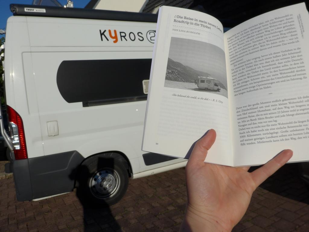 Buch Abenteuer Vanlife - Roadtrips - Lisa Caravanci