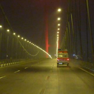 Ozmangazi Brücke nach Istanbul